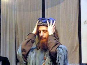 Merlin receives the crown